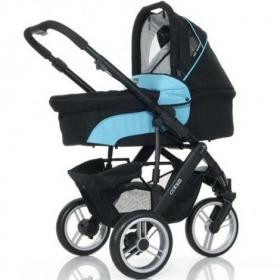 Универсальная коляска 2 в 1 ABC Design Cobra Turquoise-black