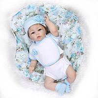 Силиконовая Коллекционная Кукла Реборн Reborn ( Виниловая Кукла ). Арт.507, фото 1