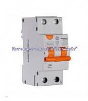 Дифференциальный автоматический выключатель 2P 25A General Electric DDM60C25/030 2P AC 6kA (Венгрия)