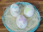 Как оригинально украсить яйца к Пасхе.