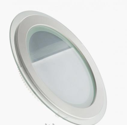 Светильник светодиодный 6W (4000K) круглый со стеклом Glass Rim