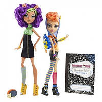 Набор кукол monster high sisters Clawdeen Wolf & Howleen Wolf