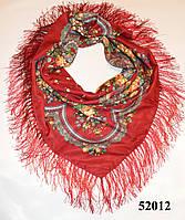 Павлопосадский шерстяной платок (52012)