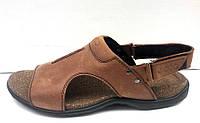 Босоножки мужские Ecco кожаные E0015