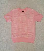 Модная футболка для мальчиков Белый принт