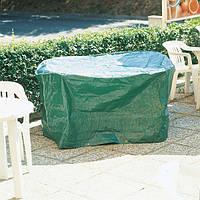 Тент, защитный чехол для садовой, туристической мебели круглый, ø 165 х 80 см, Verdemax