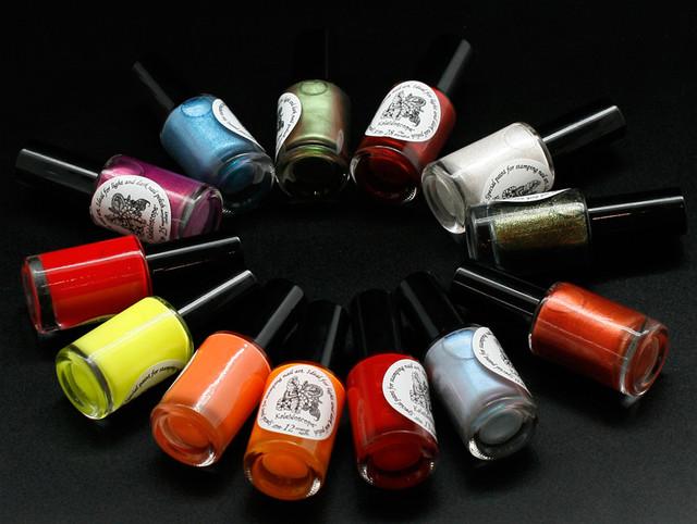 Лак-краска для стемпинга Global Fashion
