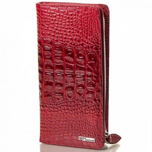 Женский изысканный кожаный кошелек DESISAN (ДЕСИСАН), SHI321-1KR