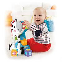 Fisher-Price Roller Blocks Tumblin' Zebra, фото 1