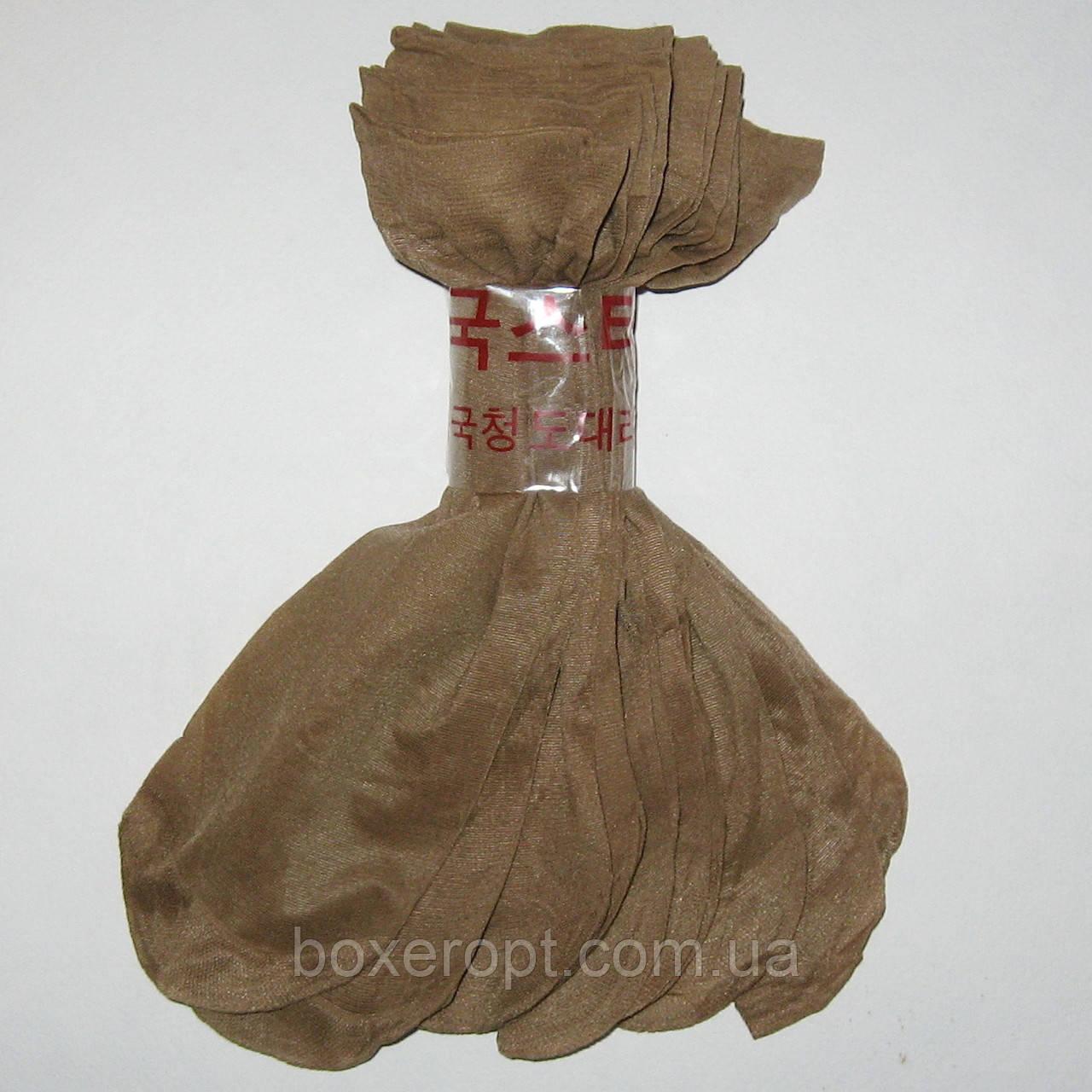 Женские капроновые носки - 2.80 грн./пара (бежевые)