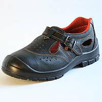 Перфорированные полуботинки Темп (ВА460) Рабочая обувь, Ремешок, ПУ, Лето, 41