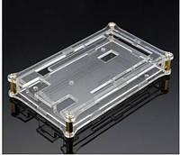 Корпус акриловый для Arduino Mega 2560 прозрачный  комплект крепеж оклейка защитная