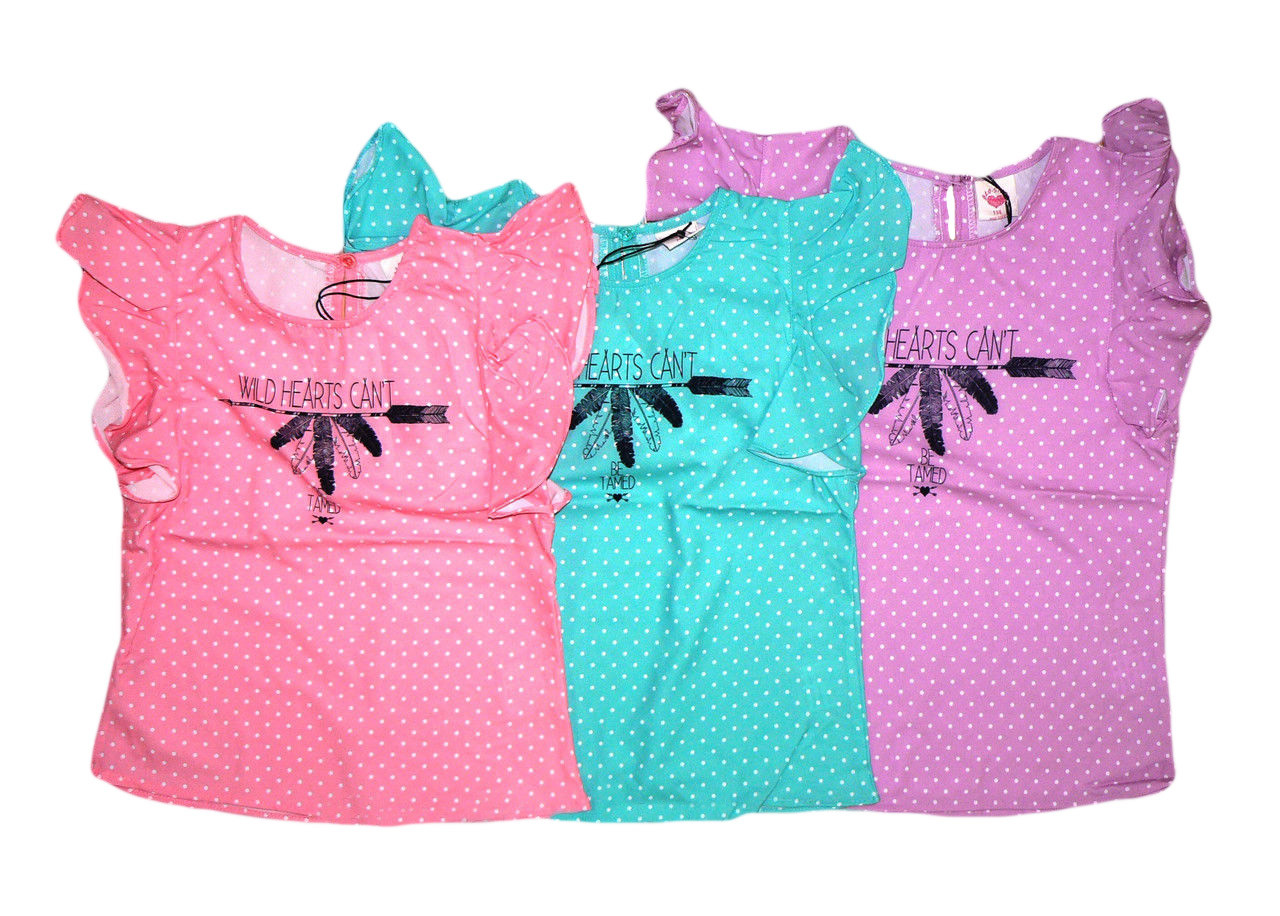 Блузка  для девочек, размеры 116,122, Glostory. Арт. 8550