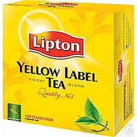 Чай черный Lipton Yellow Label   , 100 пак