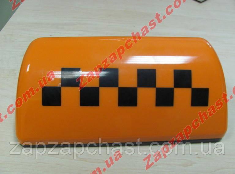 """Фонарь """"Такси"""" оранжевый (шашка такси оранжевая на магнитах с проводом)"""