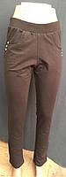 Трикотажные женские брюки большого размера 0002