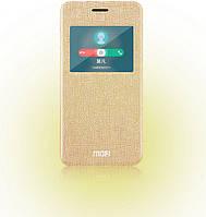 Чехол-книжка Mofi для телефона Asus Zenfone 5 золотистый gold