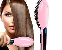 Электрическая расческа для выправления волос Fast Hair Straightener, утюжок для волос Фаст Хейр Стрейтнер