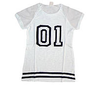 Футболка для девочек, размеры ,158, Glostory. Арт. GPO 1419