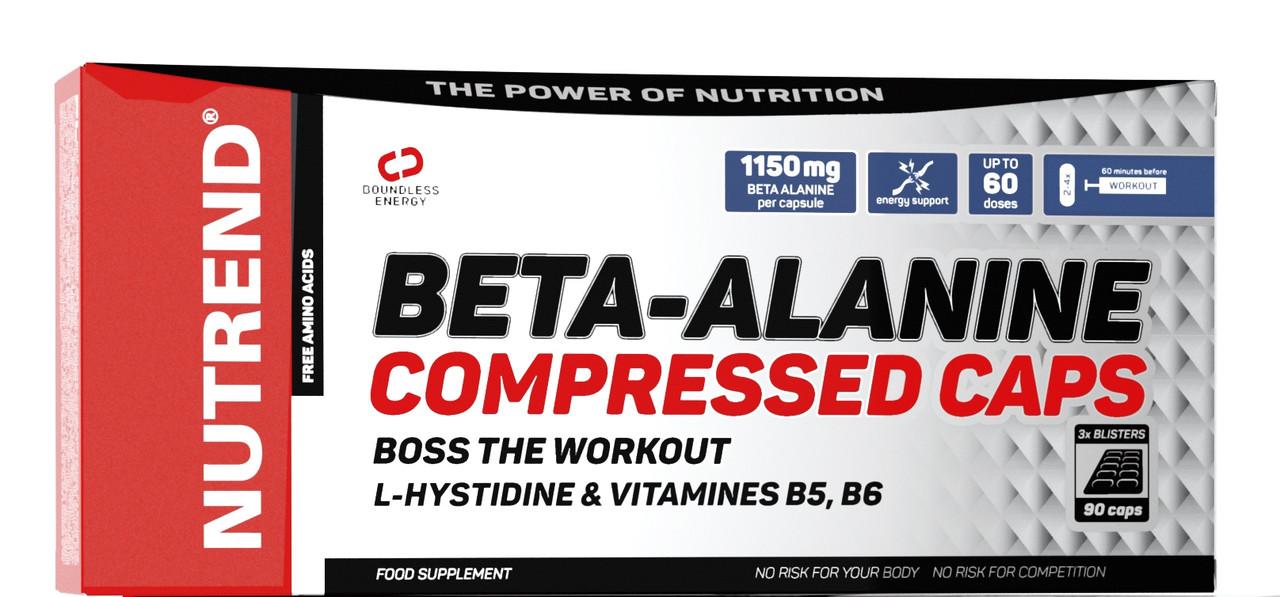 Предтренировочний комплекс Nutrend Beta-Alanine 90 caps