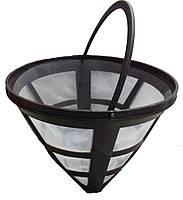 Фильтр многоразовый №4 черный для капельных кофеварок (1шт), фото 1