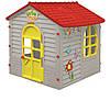 Большой серый садовый домик Mochtoys