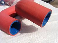 Патрубки охлаждения ВАЗ 2170 УСИЛИННЫЕ 2-ух слойные (из силикона и резины) (пр-во Россия)