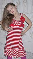 Недорогой практичный сарафан для школьниц, фото 1
