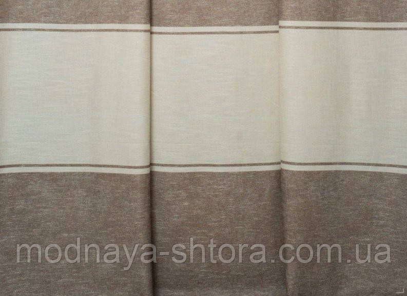 Портьерная ткань горизонтальная полоса