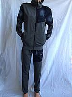 Мужской спортивный костюм 4 цвета джинсовыми вставками/ купить скпортивный костюм