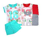 Комплект-двойка для девочки, размеры 98,116,122, арт. GLT 1785