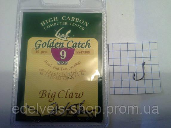 Гачки рибальські Golden Catch BIG CLAW 9, фото 2