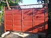 Ворота филёнчатые из цельно листовой филёнки, фото 2