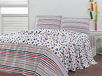 Летнее постельное белье Marie Claire Confettis multi евро размера