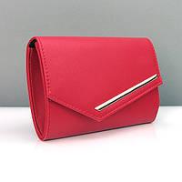 4ce346667e1b Красная матовая сумочка-клатч женская овальная 080: продажа, цена в ...