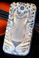 Силиконовый чехол с тигром для Samsung Galaxy S4, фото 1