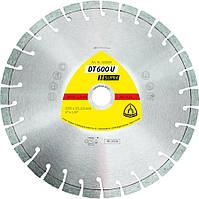 Круг отрезной алмазный Kronenflex (Klingspor) DT 600 U 125x2,4x22,23