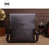 Стильная молодежная мужская сумка Polo  КС1-1