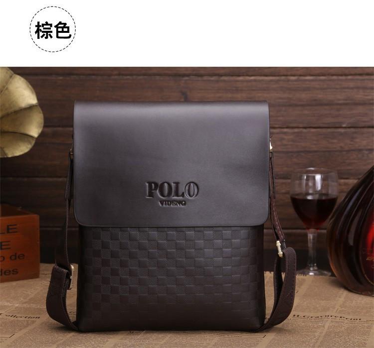 Стильная молодежная мужская сумка Polo КС1-1 - интернет-магазин