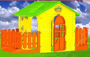 Детский игровой домик  Xxl 205см с терассой, фото 2