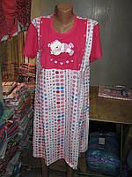 Рубашка для кормящих мам Батал