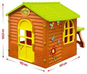 Большой садовый домик Mochtoys + столик + стульчик, фото 2