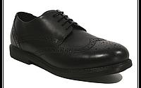 Кожаные туфли-броги George для мальчика, размеры 36