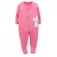 Человечек хлопковый Carters розовый Мышка, Размер 9м, Размер 9м