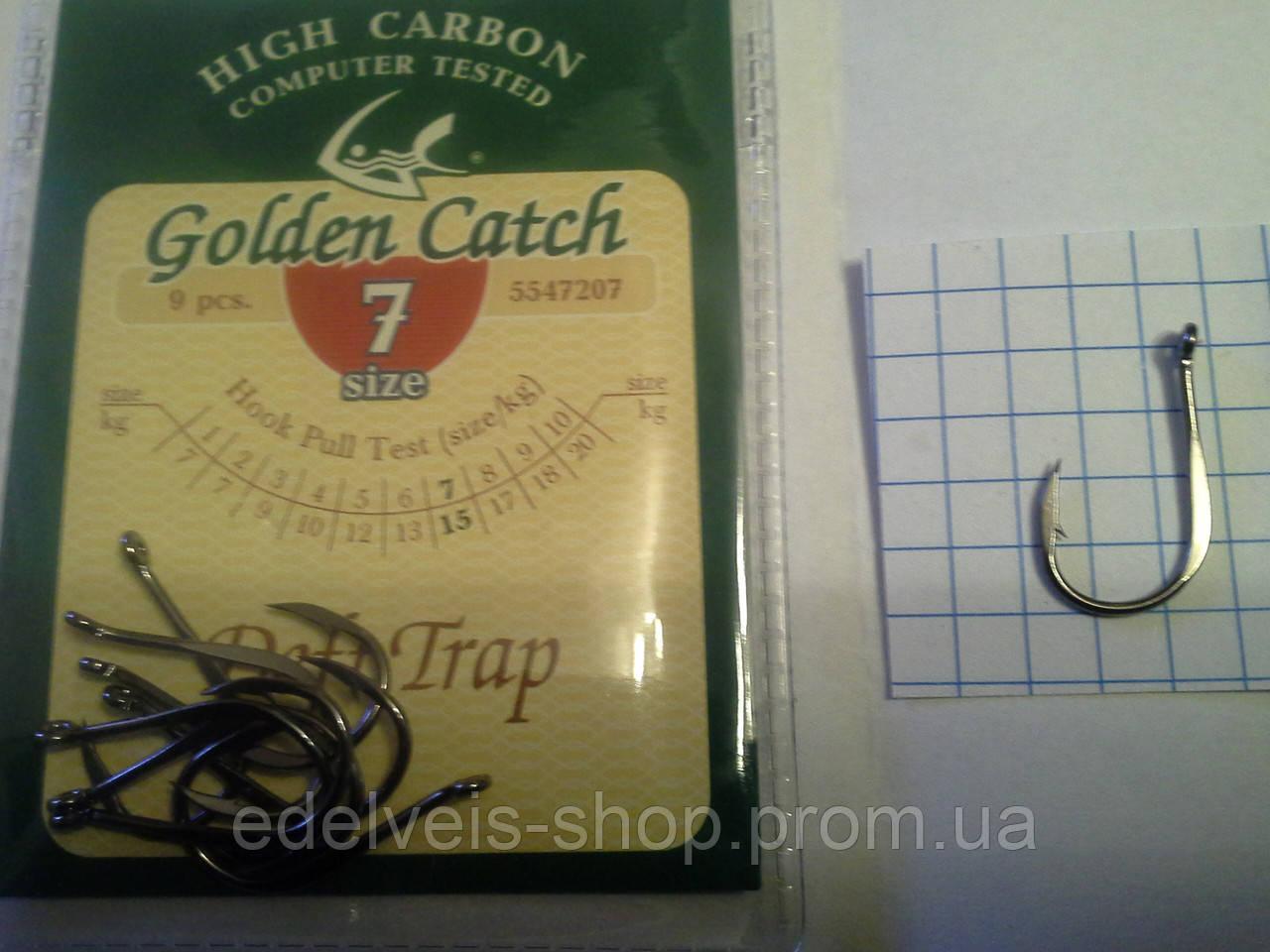 Крючки рыболовные Golden Catch DEFT TRAP 7