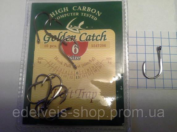 Крючки рыболовные Golden Catch DEFT TRAP 6, фото 2