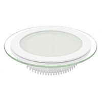 LED Светильник круглый стекло 6W 4000K
