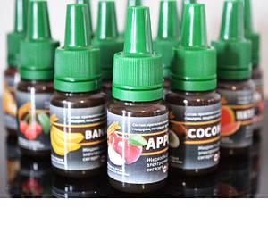 Жидкости 10мл 0мг/мл (без никотина) для электронных сигарет