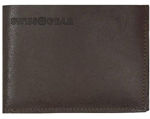 Стильное коричневое мужское портмоне SWISS GEAR 30-13BR