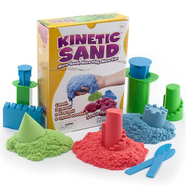 Кинетический песок WabaFun